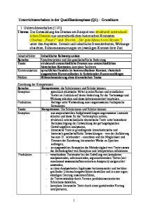 Unterrichtsvorhaben in der Qualifikationsphase (Q1) Grundkurs