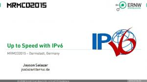 Up to Speed with IPv6