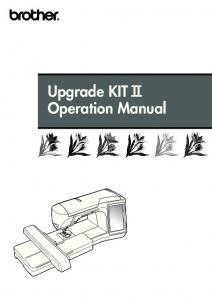 Upgrade KIT I Operation Manual