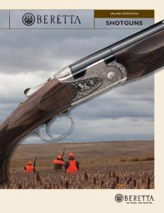 UPLAND SPORTSMAN SHOTGUNS