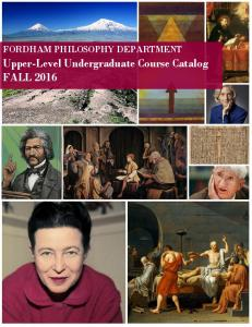 Upper-Level Undergraduate Course Catalog FALL 2016