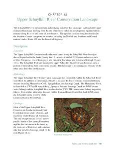 Upper Schuylkill River Conservation Landscape