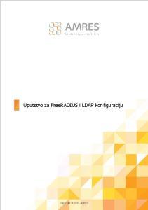 Uputstvo za FreeRADIUS i LDAP konfiguraciju