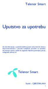 Uputstvo za upotrebu. Telenor Smart. Telenor Smart. Srpski - CJB3270ALAAA