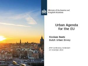 Urban Agenda for the EU