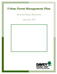 Urban Forest Management Plan