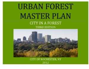 URBAN FOREST MASTER PLAN CITY IN A FOREST THIRD EDITION