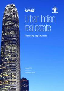 Urban Indian real estate Promising opportunities