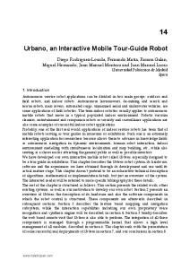 Urbano, an Interactive Mobile Tour-Guide Robot