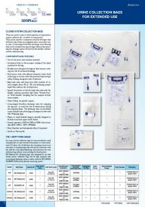 URINE COLLECTION BAGS FOR EXTENDED USE