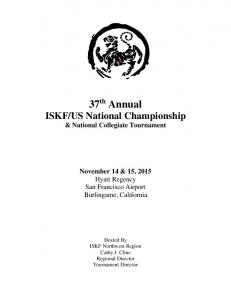 US National Championship & National Collegiate Tournament