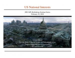 US National Interests