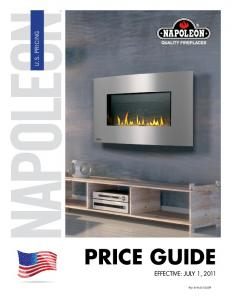 U.S. PRICING PRICE GUIDE EFFECTIVE: JULY 1, Part # W