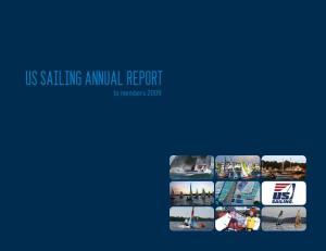 US Sailing annual REPORT to members 2009