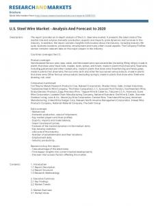 U.S. Steel Wire Market - Analysis And Forecast to 2020