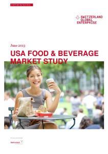 USA FOOD & BEVERAGE MARKET STUDY