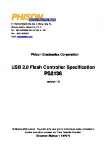 USB 2.0 Flash Controller Specification