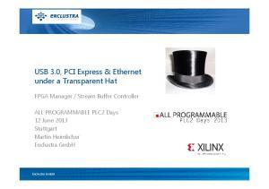 USB 3.0, PCI Express & Ethernet under a Transparent Hat