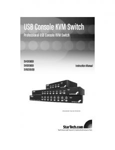 USB Console KVM Switch