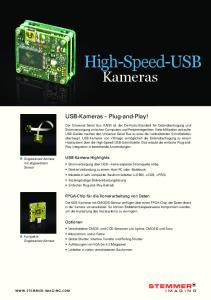 USB-Kameras Plug-and-Play!