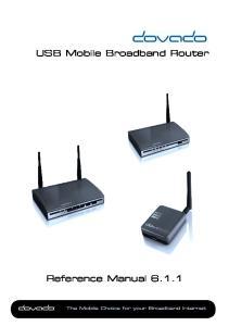 USB Mobile Broadband Router