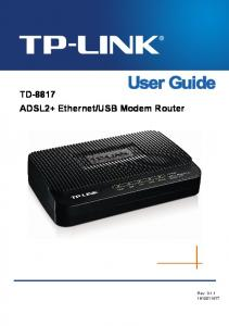 USB Modem Router