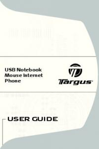 USB Notebook Mouse Internet Phone USER GUIDE