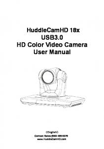 USB3.0 HD Color Video Camera User Manual