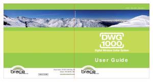 User Guide. Brace Audio, th Way SE Auburn, WA 98092, USA Brace Audio User Guide v1.0