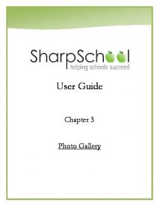 User Guide. Chapter 3. Photo Gallery