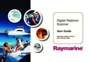 User Guide Document number: Date: February 2009