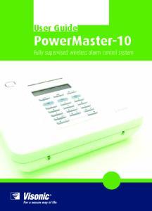 User Guide PowerMaster-10