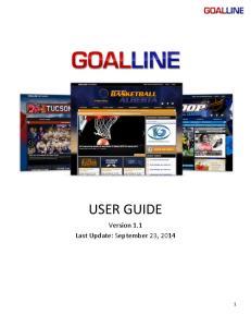 USER GUIDE Version 1.1 Last Update: September 23,