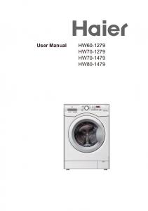 User Manual HW HW HW HW Power. Quick Wash Sport Mix Delicate Rinse Spin 20 Temp. Delay. Prewash