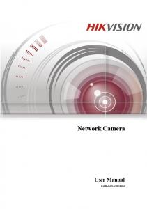 User Manual of Network Camera. Network Camera. User Manual UD.6L0201D1673A01