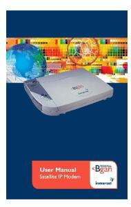 User Manual Satellite IP Modem