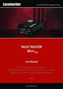 User Manual.  version 1.2