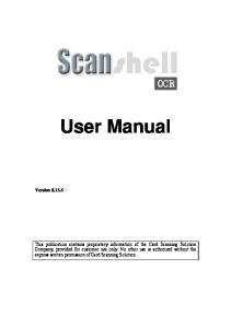 User Manual Version