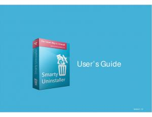 User s Guide. User s Guide. version 1.2