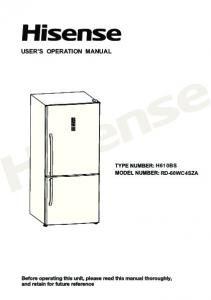 USER S OPERATION MANUAL