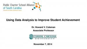 Using Data Analysis to Improve Student Achievement