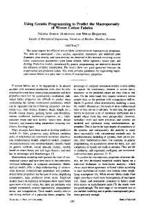 Using Genetic Programming to Predict the Macroporosity