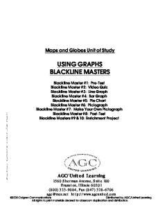 USING GRAPHS BLACKLINE MASTERS