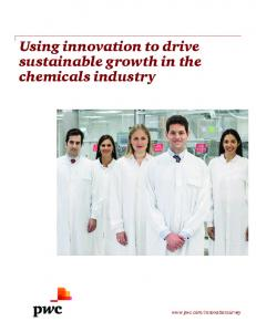 Using innovation to drive sustainable growth in the chemicals industry