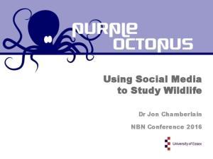 Using Social Media to Study Wildlife