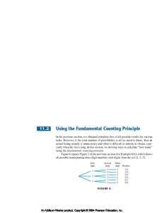 Using the Fundamental Counting Principle