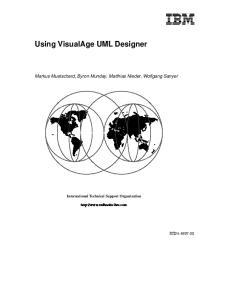 Using VisualAge UML Designer