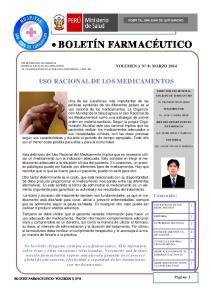 USO RACIONAL DE LOS MEDICAMENTOS