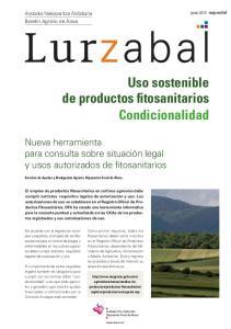 Uso sostenible de productos fitosanitarios Condicionalidad