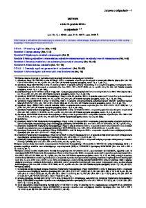 USTAWA. z dnia 14 grudnia 2012 r. o odpadach 1, 2. (J.t.: Dz. U. z 2018 r. poz. 21 i z 2017 r. poz )